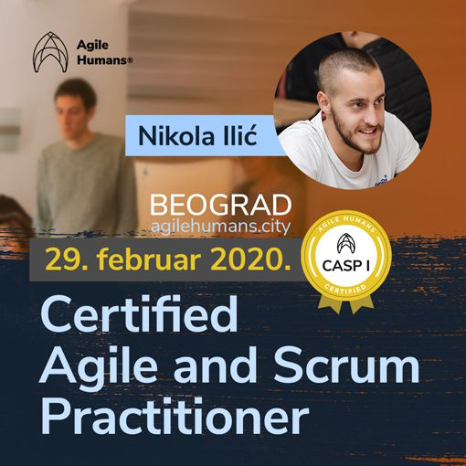 CERTIFIED AGILE AND SCRUM PRACTITIONER