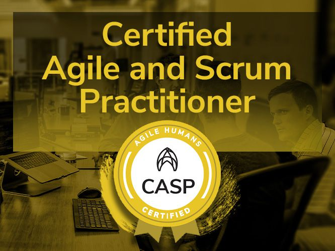 Certified Agile and Scrum Practitioner training