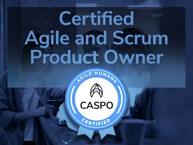 Certified Agile and Scrum Product Owner training