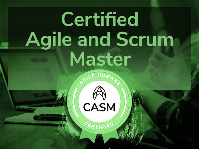 Certified Agile and Scrum Master training